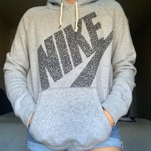 Nike grey sweatshirt